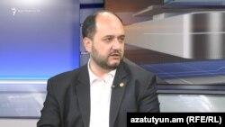 Министр образования и науки Армении Араик Арутюнян (архив)