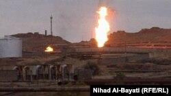 احد حقول النفط في كركوك