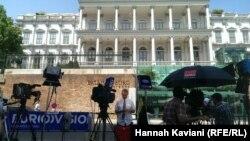 Готель Palais Coburg у Відні, де відбуваються переговори