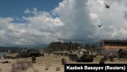 Учения российских военных в Абхазии (архивное фото)