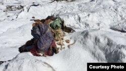 Останки альпинистки Елены Базыкиной, пропавшей в 1987 году