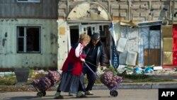 Первомайськ, 50 кілометрів від Луганська, вересень 2014 року