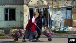 Луганская область. Сентябрь 2014 года