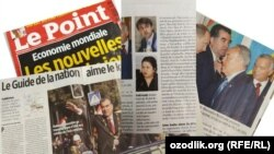 Статьи в журнале «Le Point» о президенте Таджикистана Эмомали Рахмоне.
