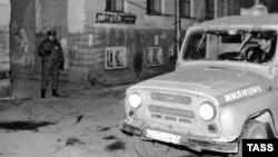 Канал Грибоедова. Место убийства Галины Старовойтовой