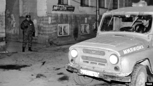 Mjesto gdje je ubijena Galina Starovoitova, St. Petersburg, 20. novembar 1998.