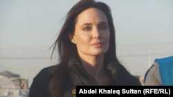 Angelina Jolie, shown in a 2015 photo, said in a UN speech that women must play a role in the Afghan peace process.