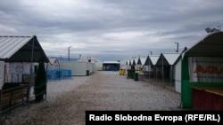 Macedonia - The reception center for migrants in Gevgelija - 9Mar2016