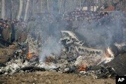 Avionët e rrëzuar indianë