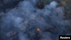 Пожежа в Чорнобильській зоні, 28 квітня 2015 року