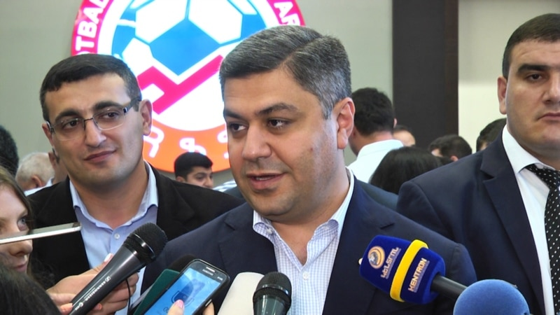 Armenian Football Chief Resigns After Euro 2020 Rout