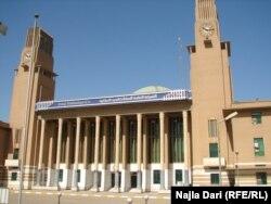 محطة قطارات غربي بغداد