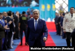 Қазақстан президенті Қасым-Жомарт Тоқаев инаугурация күні. 12 маусым 2019 жыл.