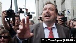 Геннадий Гудков покидает Госдуму, 14 сентября 2012