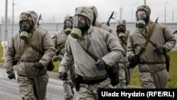 Вучэньні на Беларускай АЭС