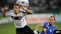Фото с матча Германия-Азербайджан, Ганновер, 9 сентября 2009