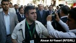 Турскиот премиер во посета на Ирак