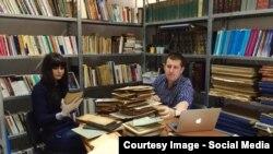 La Centrul pentru Studiul Istoriei Evreilor, Adrian Cioflâncă și Maria Mădalina Irimia
