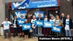 Volonteri u Glasgowu