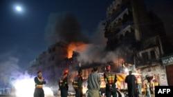 Столкновения в Равалпинди