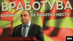 Поранешниот вицепремиер за економски прашања Владимир Пешевски.