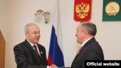 Константин Толкачев (с) һәм Александр Соловьев, Уфа, 25 февраль 2011