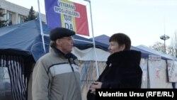 Anatolie Cărbune și Valentina Ursu