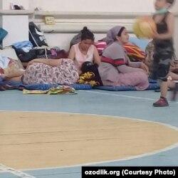 Эвакуированные жители сел в окрестностях Сардобинского водохранилища