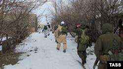 """Так называемые ополченцы самопровозглашенной """"ДНР"""" в Горловке"""