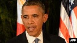 АҚШ президенті Барак Обама. Манила, 28 сәуір 2014 жыл.