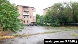 Պլանավորված վիճահարույց շինարարության վայրը «Ֆիզգորոդոկում», Երևան, 22-ը օգոստոսի, 2020թ.