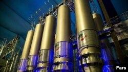 Иран, объекты атомного производства (выставка).