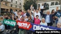 Protestna šetnja protiv režima Aleksandra Vučića
