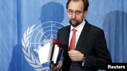 Иорданский принц Зеид Раад аль-Хуссейн Верховный комиссар по правам человека ООН