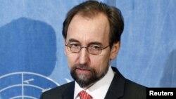 Верховный комиссар ООН по правам человека Зейд Раад аль-Хуссейн.