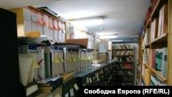 """Част от архива на института, в който по думи на експертите от ДА """"Архиви"""" се съдържат повече от 152 л.м. документи"""