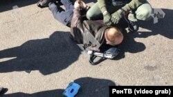 Задержание полковника МВД Павла Курмелева