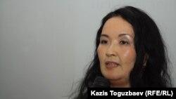 Жайна Айдархан, жена Арона Атабека. Алматы, 31 января 2013 года.
