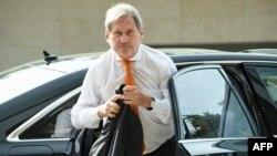Komisioneri evropian për zgjerim, Johannes Hahn