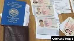 Москвадагы мигранттардын паспорттору