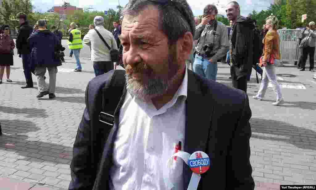 Медведевтің рақымшылығына іліккен бірден-бір саяси тұтқын Сергей Мохнаткин