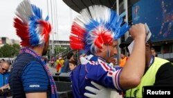 Security was tight ahead of the opening match of the Euro 2016 soccer tournament between hosts France and Romania.