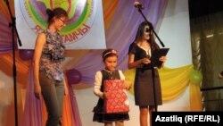 Иң яшь катнашучы Әлмира Гарифуллина