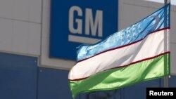 Flamuri i Uzbekistanit
