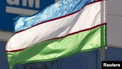 Прапор Узбекистану (ілюстраційне фото)
