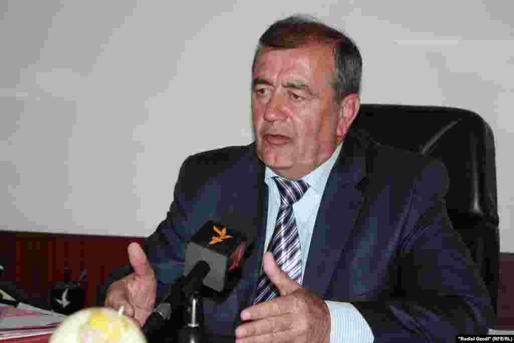 Таджикистан: Амиркул Азимов, председатель Совбеза РТ в интервью радио Озоди