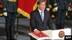 Бішкек. Інавгурація президента Алмазбека Атамбаєва, 1 грудня 2011 року
