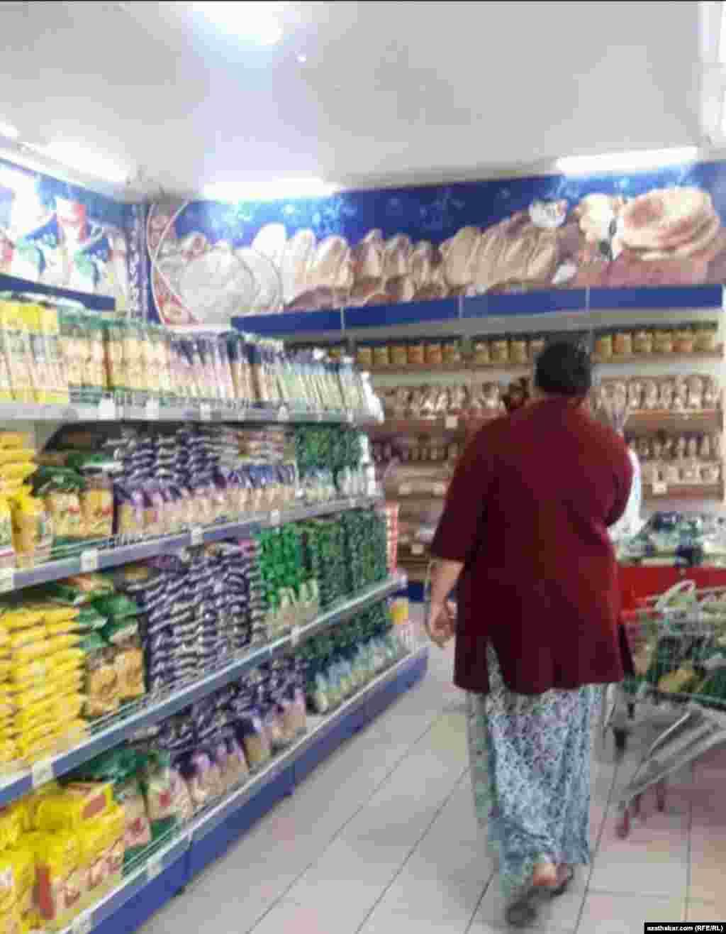 Частный продуктовый магазин, Ашхабад