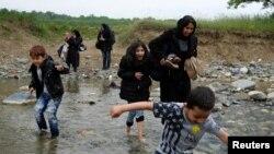 Мигранти во Грција.