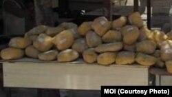 آرشیف، مواد مخدر ضبط شده از سوی پولیس